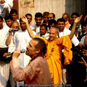 Radhanath Swami Dancing 1 283x283 Radhanath Swami As a Music Lover
