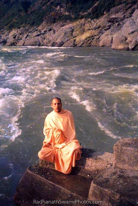 Radhanath-Swami-In-Hrishikesh