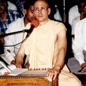 Radhanath Swami Playing Harmonium 1 283x283 Radhanath Swami As a Music Lover