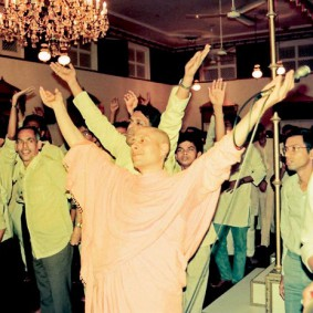 Radhanath Swami in a Kirtan1 283x283 Radhanath Swami As a Music Lover