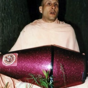 playing drums  283x283 Radhanath Swami As a Music Lover