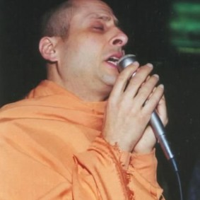 singing 1  283x283 Radhanath Swami As a Music Lover