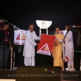 Annamrita Opening 283x283 Radhanath Swami at Inspiro 2012