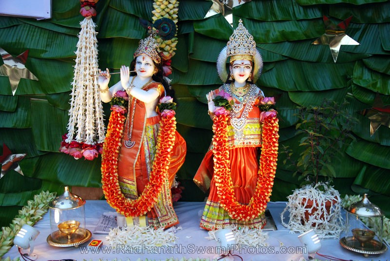 View Larger Radha Krishna Deities of Birla House View Larger Radhanath