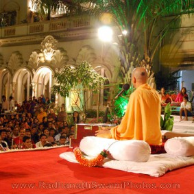Radhanath Swamis Lecture at Birla House 283x283 Radhanath Swami At Birla House