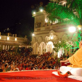 Radhanath Swami Lecture at Birla House 283x283 Radhanath Swami At Birla House