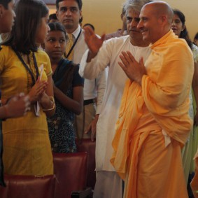 IMG 0020 new 283x283 Radhanath Swami At Gita Champions League Event
