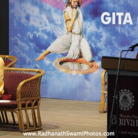 IMG 0030 new 283x283 Radhanath Swami At Gita Champions League Event