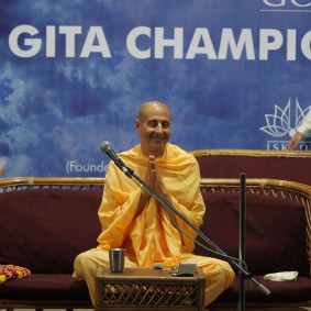 IMG 0057 new 283x283 Radhanath Swami At Gita Champions League Event