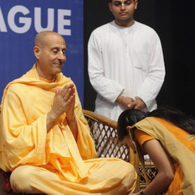 IMG 0127 new 283x283 Radhanath Swami At Gita Champions League Event