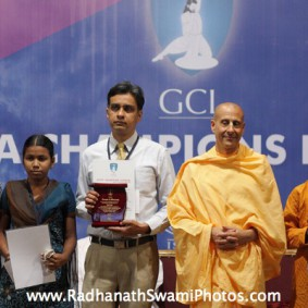 IMG 0135 new 283x283 Radhanath Swami At Gita Champions League Event