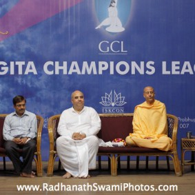 IMG 0138 new 283x283 Radhanath Swami At Gita Champions League Event