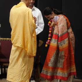 IMG 0142 new 283x283 Radhanath Swami At Gita Champions League Event