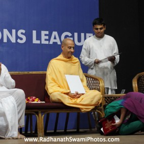 IMG 0144 new 283x283 Radhanath Swami At Gita Champions League Event