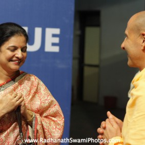 IMG 0155 new 283x283 Radhanath Swami At Gita Champions League Event