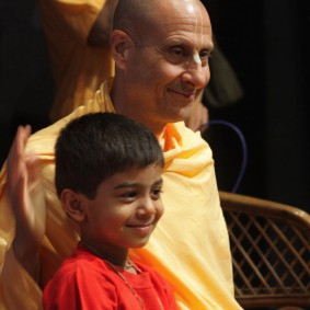 IMG 0161 new 283x283 Radhanath Swami At Gita Champions League Event