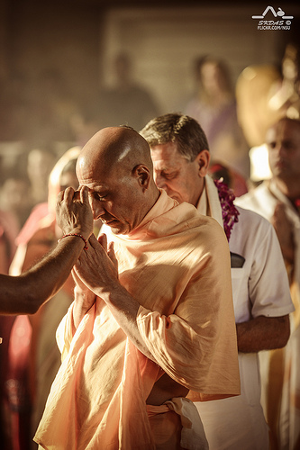 Radhanath Swami in Laguna Beach, California