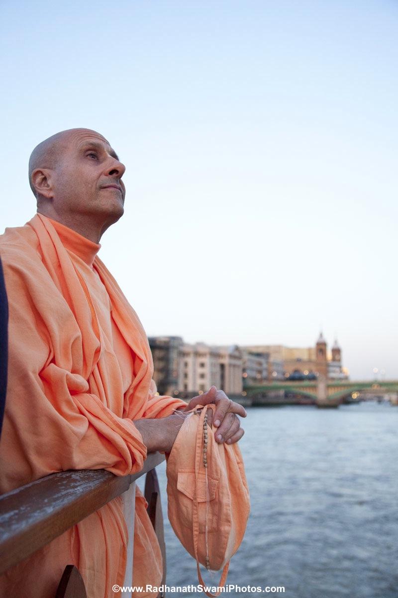 Radhanath Swami - Boat Trip