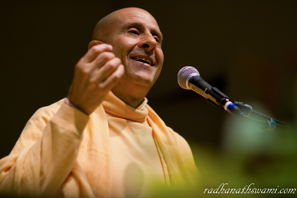 Radhanath Swami Closeup