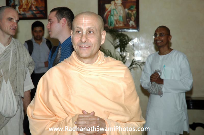 Radhanath Swami During Bangalore Book Launch