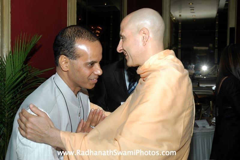 Radhanath Swami in Bangalore