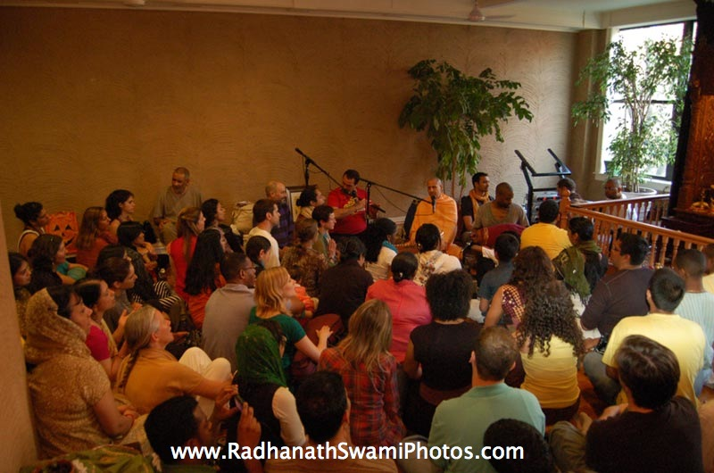 Radhanath Swami with Kindered Spirit Group