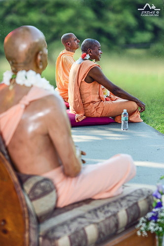 Devamrita Swami with HH Radhanath Swami