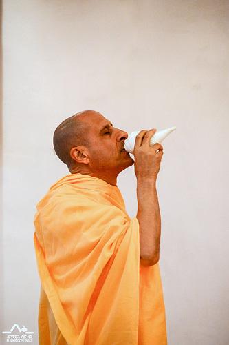 Radhanath Swami in New Dwarka