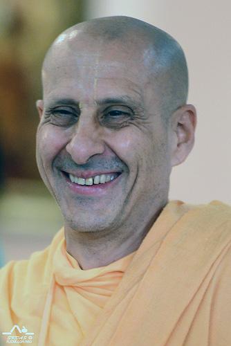 Radhanath Maharaj in New Dwarka, USA