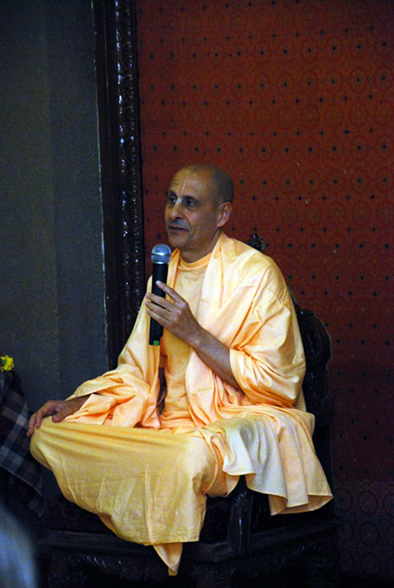 Lecture by HH Radhanath Swami to Harvard Students