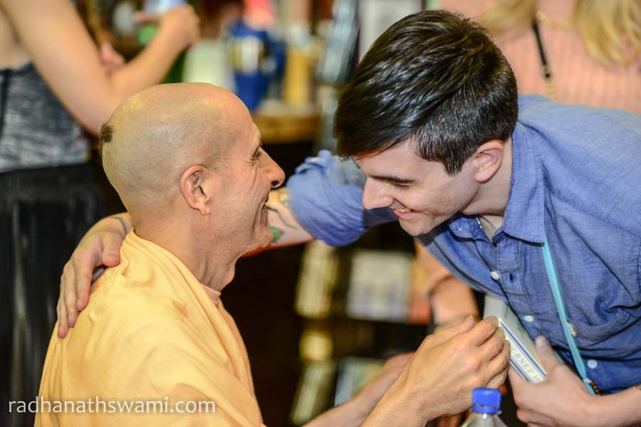 HH Radhanath Swami In Los Angeles