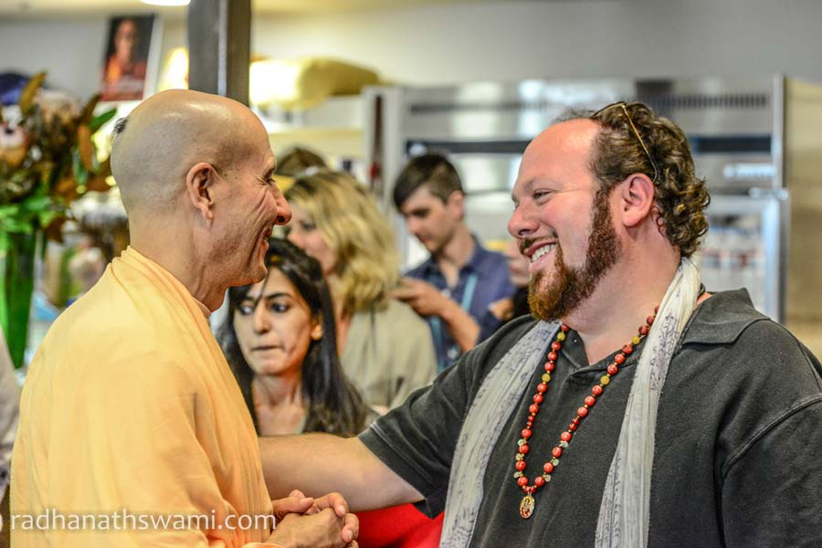 Swami Radhanath in Los Angeles