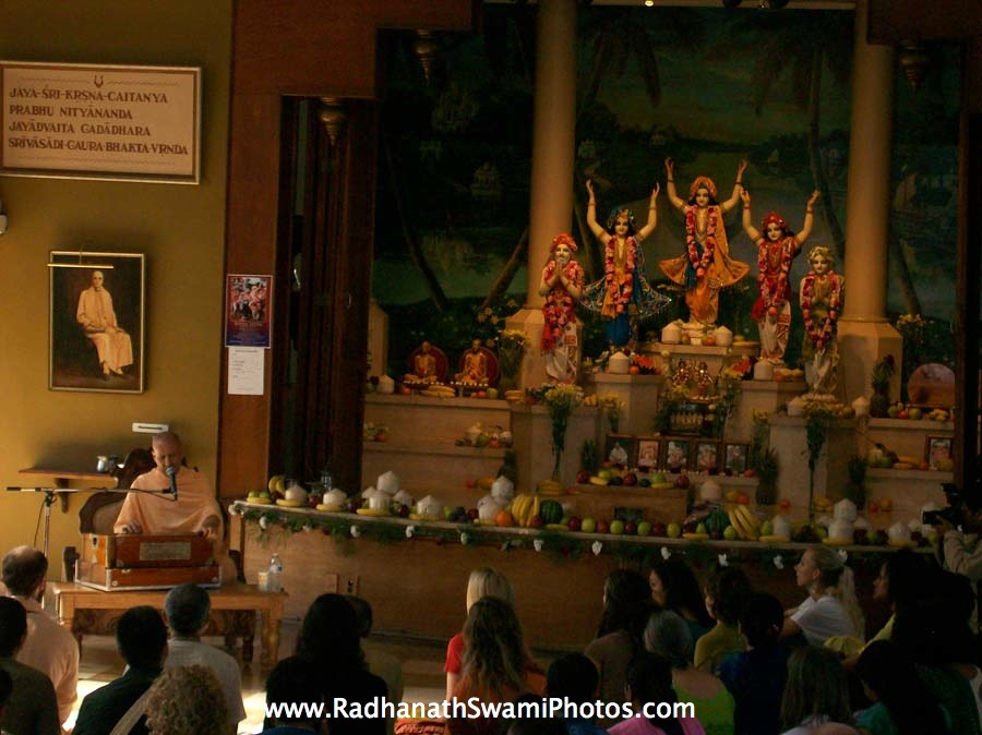 Swami Radhanath in United States