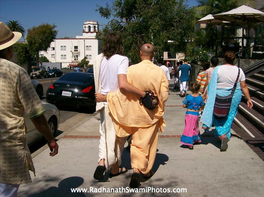 Radhanath Swami in United States
