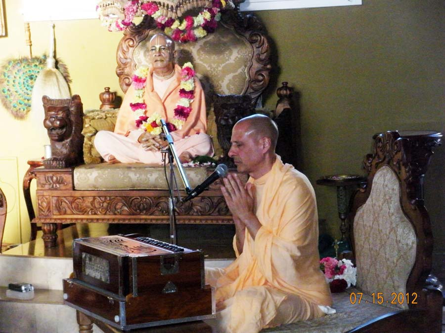 Radhanath Swami at Laguna Beach Temple