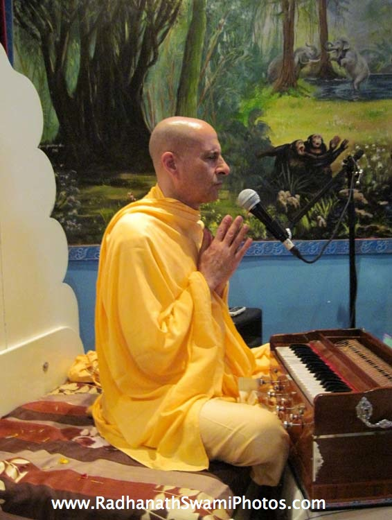 Radhanath Swami in Holland