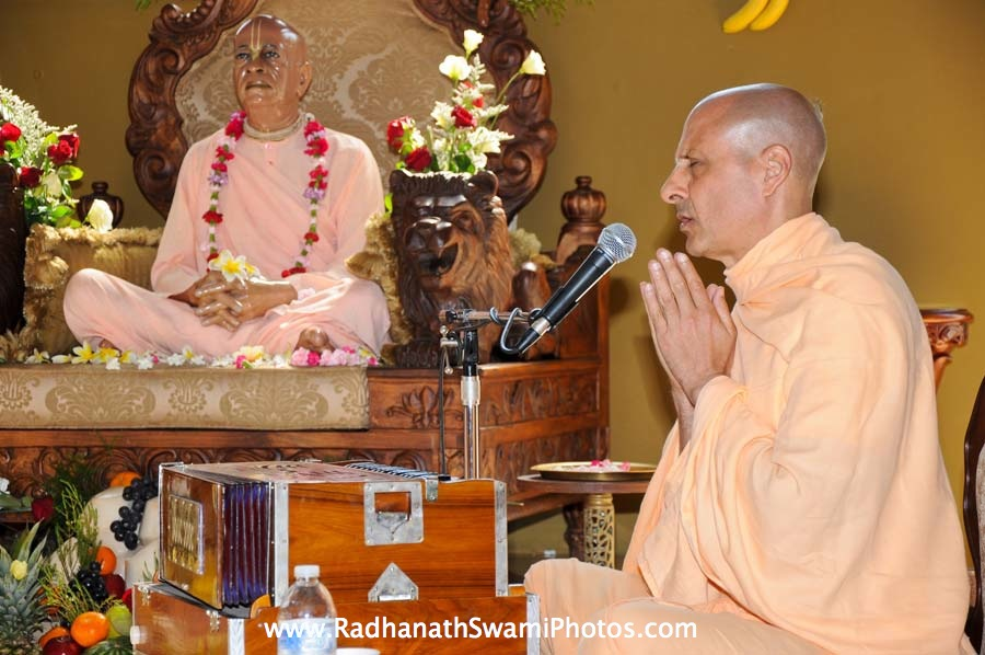 Radhanath Swami in US