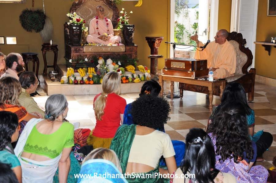 Talk by HH Radhanath Swami at Laguna Beach Temple
