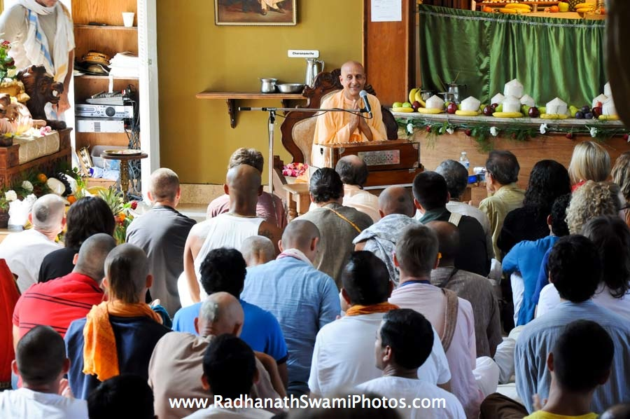 Talk by HH Radhanath Swami at Laguna Beach Temple