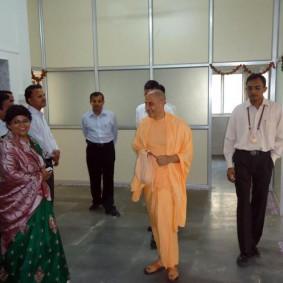 Radhanath Swami's Visit at PV Doshi Hospital