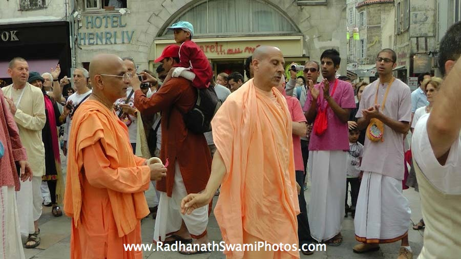 Radhanath Swami at Spiritual Retreat 2012