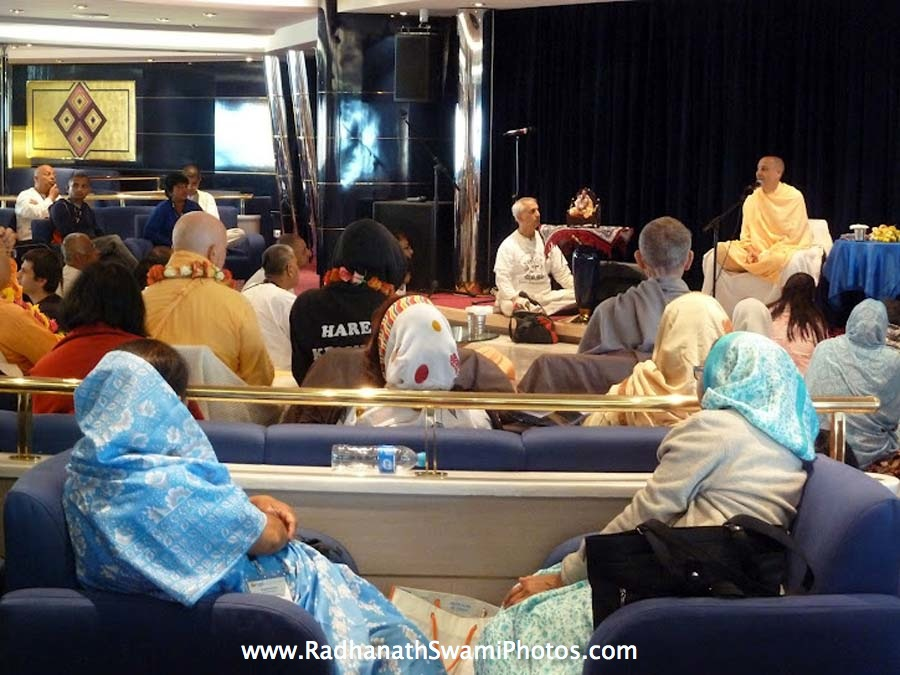 Talk by Radhanath Swami at Cruise