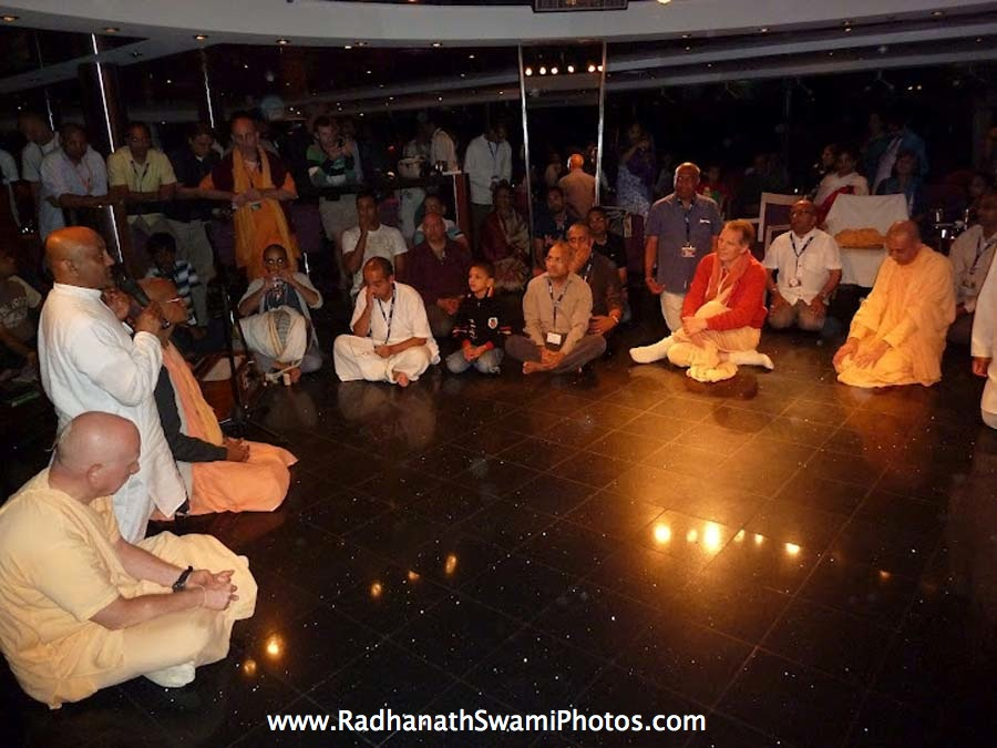 Hare Krishna Kirtan at Cruise Ship