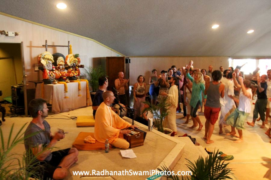 Radhanath Swami at Bhakti Fest, USA