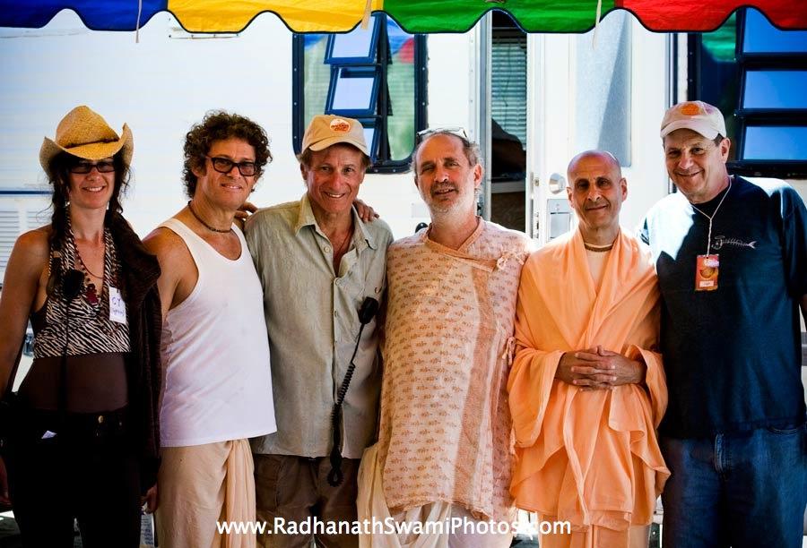Radhanath Swami at Bhaktifest