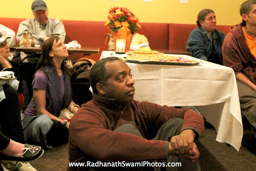 Guests at Busboys and Poets Restaurant, Washington DC