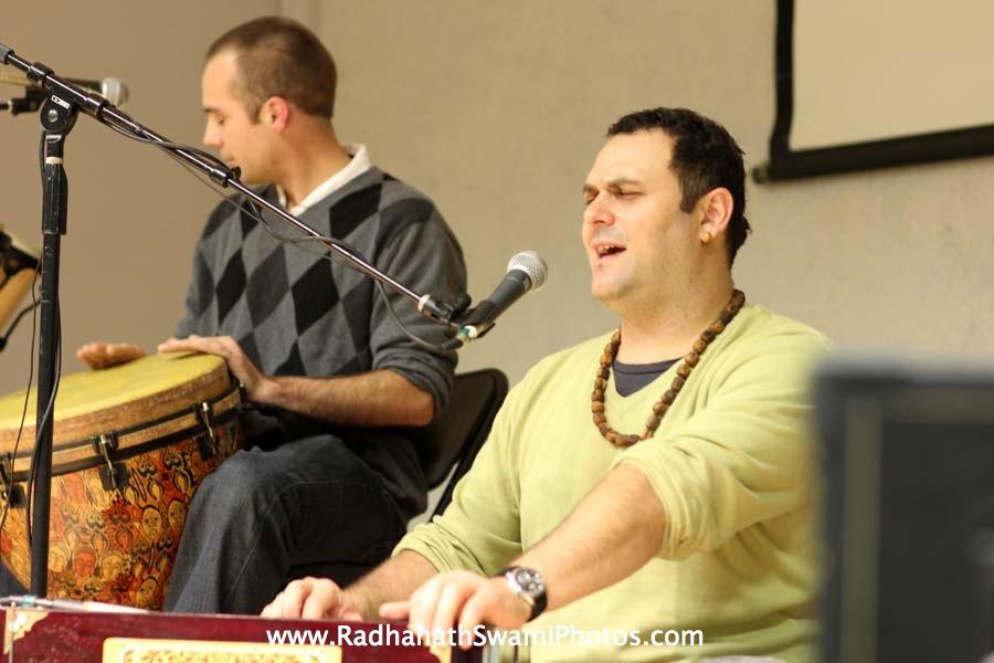 Gauravani Prabhu kirtan at Boston University`
