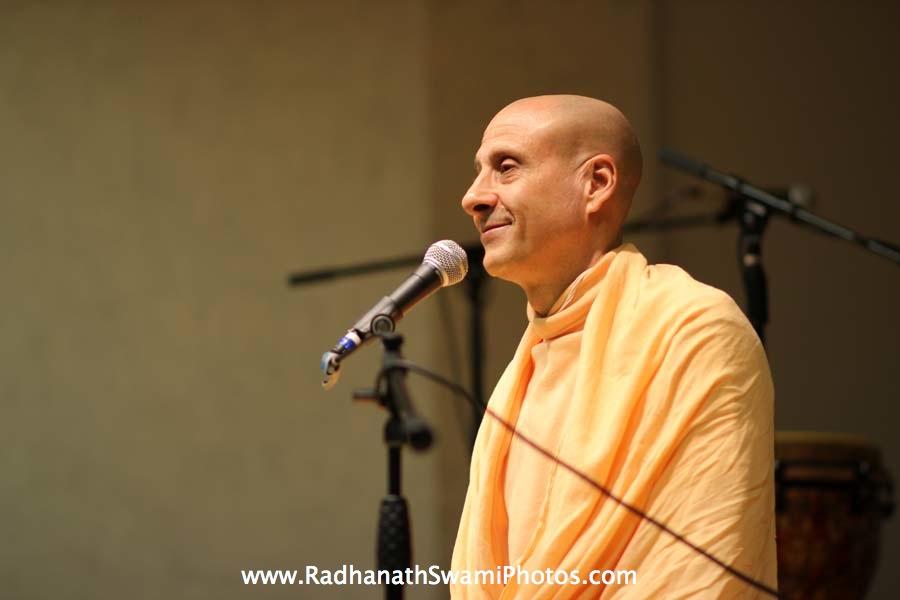 Radhanath Swami at Boston University Holistic Yoga Club