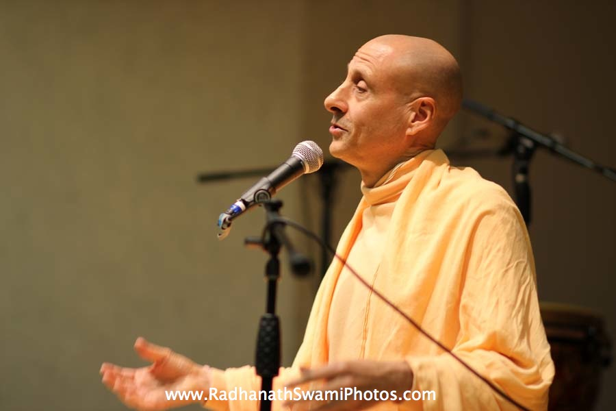 Radhanath Swami in Boston