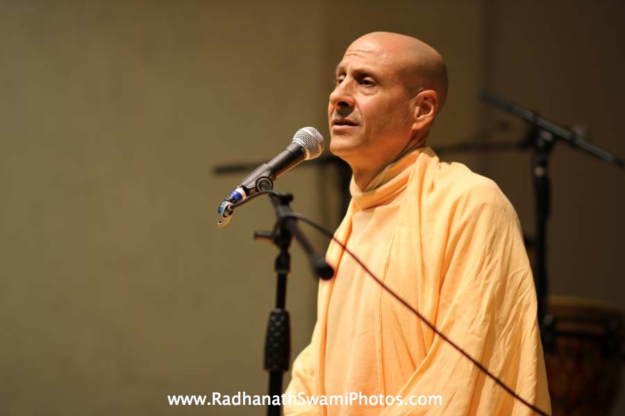 Talk by HH Radhanath Swami at Boston University